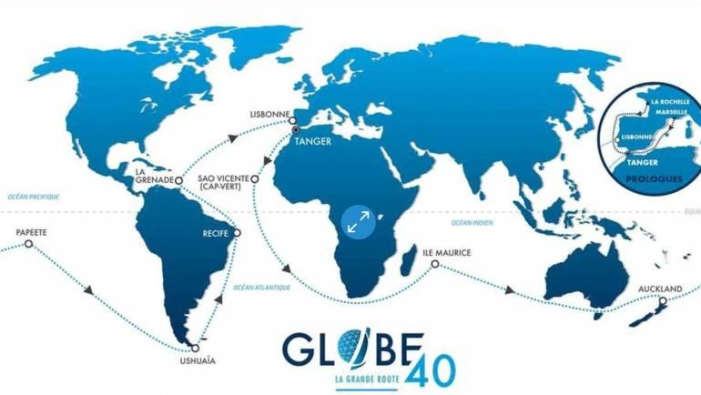 Grand départ de Tanger le 26 Juin 2022 de la Globe 40
